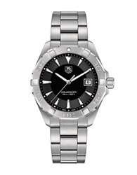 Tag Heuer Aquaracer Polished Steel Bracelet Quartz Watch Silver