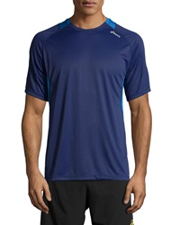 Asics Favorite Short Sleeve Tee True Navy New Blue