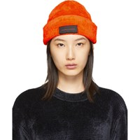 Alexander Wang Orange Chynatown Beanie