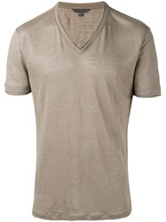 John Varvatos Classic T Shirt Green