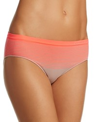 Calvin Klein Seamless Illusions Boyshort Qd3549 Fresh Taupe Bright Nectar Orange