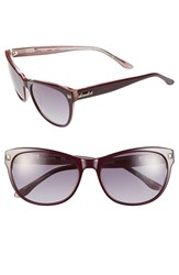 Women's Bcbgmaxazria 'Date Night' 56Mm Sunglasses