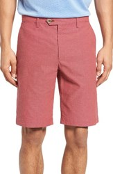 Ted Baker Men's London Evisho Cotton Shorts Red