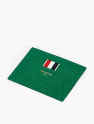 Thom Browne Green Grained Leather Cardholder