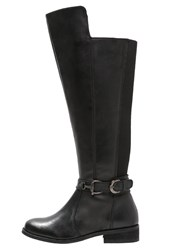 Evans Lacey Overtheknee Boots Black
