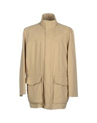 Paul And Shark Coats And Jackets Full Length Jackets Men Beige