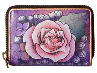 Anuschka 1110 Lush Lilac Coin Purse Multi