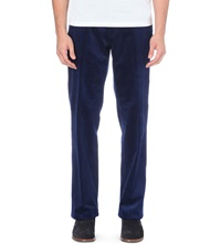 Ralph Lauren Newport Classic Fit Corduroy Trousers 34 Fall Royal