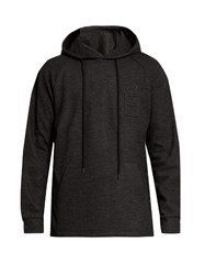 Etudes Hooded Wool And Cotton Blend Sweatshirt Dark Grey