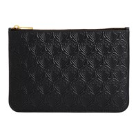Liberty London Medium Embossed Pouch Black