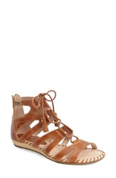 Women's Pikolinos 'Alcudia' Lace Up Sandal 1' Heel