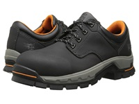 Timberland Stockdale Oxford Alloy Safety Toe Black Micofiber Men's Work Boots Gray