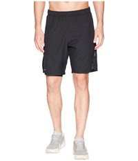 2Xu Training 2 In 1 Compression 9 Shorts Black Silver Workout