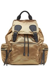 Burberry Shoes And Accessories Satin Backpack