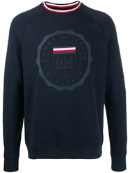 Tommy Hilfiger Crest Print Relaxed Fit Sweatshirt 60