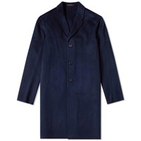 Acne Studios Chad Classic Coat Blue