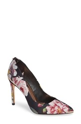 Ted Baker London Izibelp Pump Black Iguazu Print