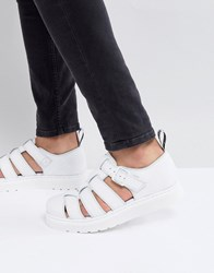 Dr. Martens Dr Vibal Closed Sandals In White