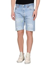 Gaudi' Denim Denim Bermudas Men