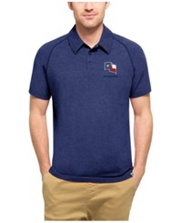47 Brand '47 Men's Texas Rangers Blend Polo Royalblue