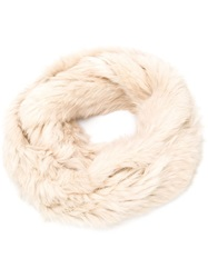 Jocelyn Infinity Scarf Nude And Neutrals