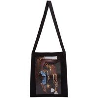 Raf Simons Black Christiane F. Edition Couple Tote