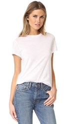 Vince Short Sleeve Swing Tee White