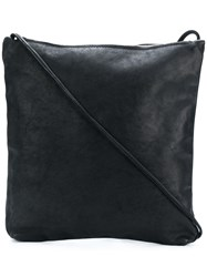 Guidi Large Shoulder Bag Black
