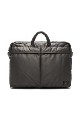 Porter Yoshida And Co. Tanker 2Way Briefcase Gray
