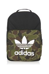 Adidas Classic Camouflage Backpack Dark Green