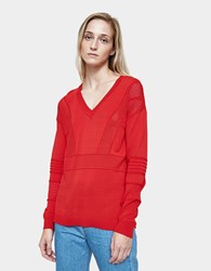 Which We Want Athletic Pullover In Red