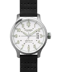 Filson The Mackinaw Field Watch 43Mm White