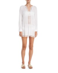 Athena Cabana Willow Coverup Tunic White