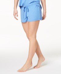 By Jennifer Moore Hacci Solid Pajama Shorts Created For Macy's Ultra Marine