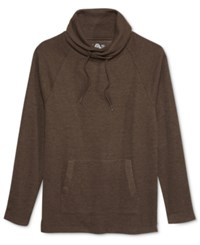 American Rag Men's Raw Edge Funnel Neck Sweatshirt Only At Macy's Soil
