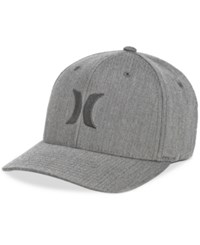 Hurley Men's One And Only Texture Flexfit Logo Hat