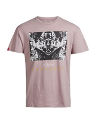 Jack And Jones Graphic Printed Short Sleeve Tee Deauville
