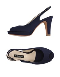 L'amour Sandals Dark Blue