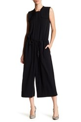 Dkny Cropped Jumpsuit Black