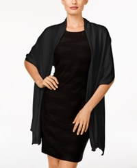 Inc International Concepts Satin Pashmina Wrap Only At Macy's Black