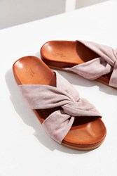 Urban Outfitters Supple Suede Twist Slide Rose