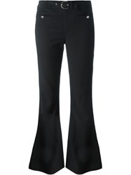 John Galliano Vintage Flared Trousers Black