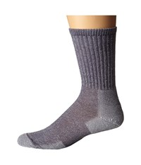 Thorlos Ultra Light Hiking Crew Single Pair Quarry Grey Crew Cut Socks Shoes Gray