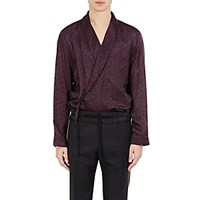 Dries Van Noten Men's Charly Wrap Front Shirt No Color