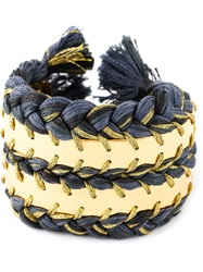 Aurelie Bidermann 'Copacabana' Cuff Blue