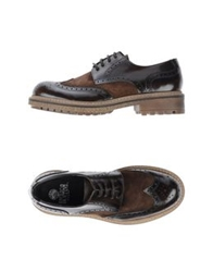 Enrico Fantini Lace Up Shoes Dark Brown