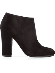 Proenza Schouler Round Toe Ankle Boots Black