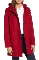 Pendleton Darby Coat Dark Red