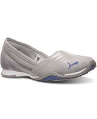 Puma Women's Asha Alt 2 Comfort Casual Sneakers From Finish Line Drizzle Bleached Denim