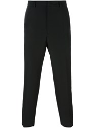 Mcq By Alexander Mcqueen Contrast Detail Trousers Black